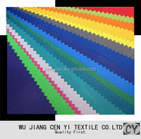 Polyester pu coated oxford Fabric for cover with soft handfeel