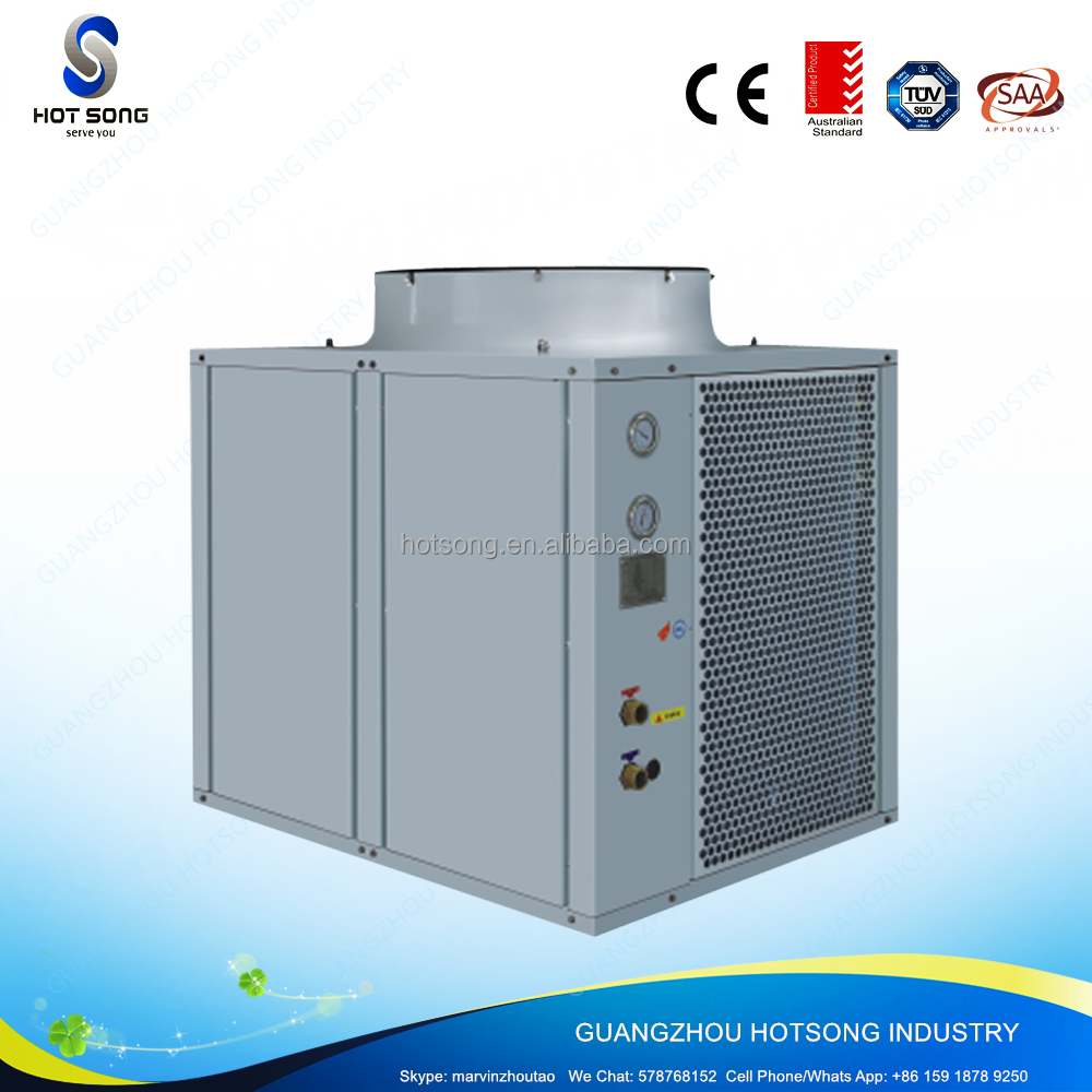 HS-105W/D stainless steel monoblock higher efficiency high cop evi air to water heat pump with Copeland compressor