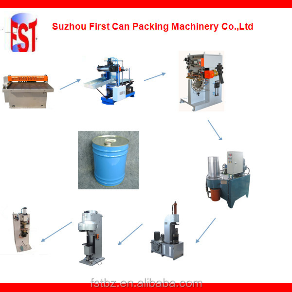 18-20L Round Straight Pail Production Line