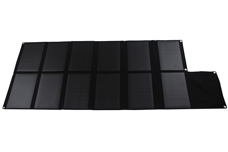 120W DC&USB outlet PET laminated fabric monocrystalline/mono solar panel
