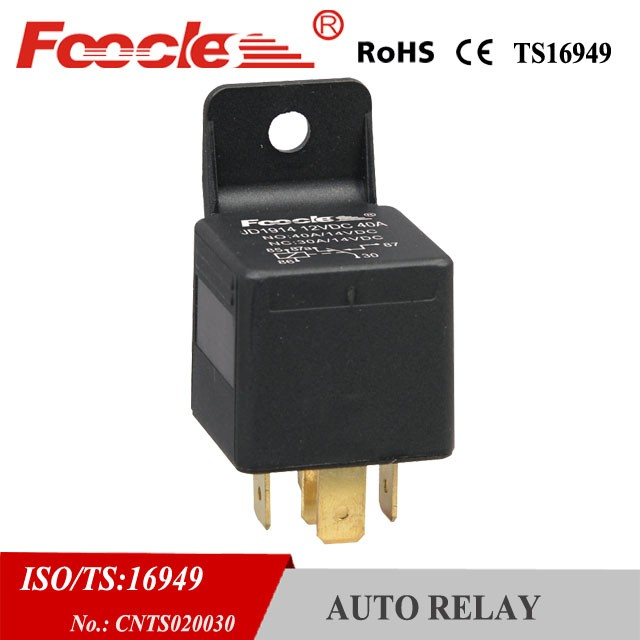 best quality auto car relay foocles jd1914 5p 12v 24v 40a automobile relay