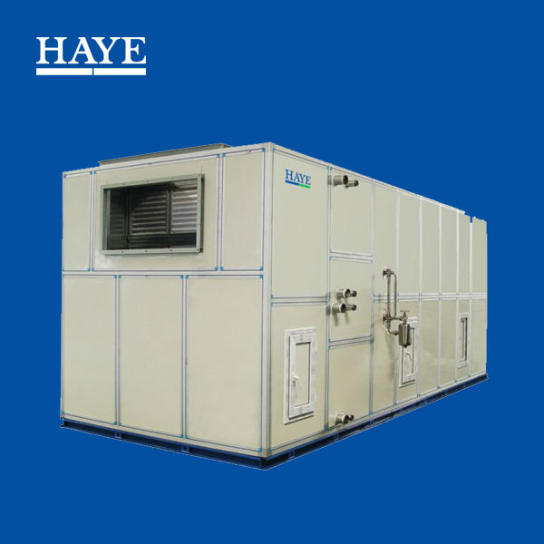 HVAC combined water to air fin heat exchanger industrial use