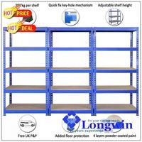 Shelf unit shelving unit steel storage rack