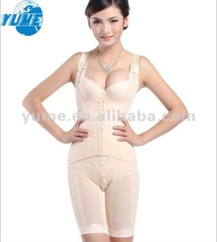 Women White Ardyss Body Shaper Full Body Shaper Tummy