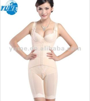 Women White Ardyss Body ShaperFull Shaper Tummy