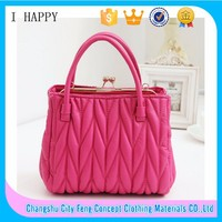 2015 Factory supply Sweet Cheapest Women Handbag Korea Wholesales Bag