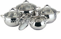 8pcs Apple shape cookware set / cooking pot