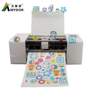 AMD360DK  automatic die cutting machine  label sticker paper digital cutting  any shape