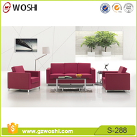 High quality Office Furniture reception breakout cafe Sofa with stainless steel legs, modern design S288