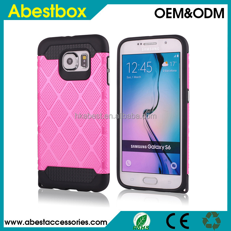 Tough Armor Mesh Plastic + TPU Combination Case for Samsung Galaxy S6 G920