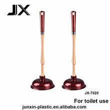 special designed toilet plunger barrel with firm PP handle