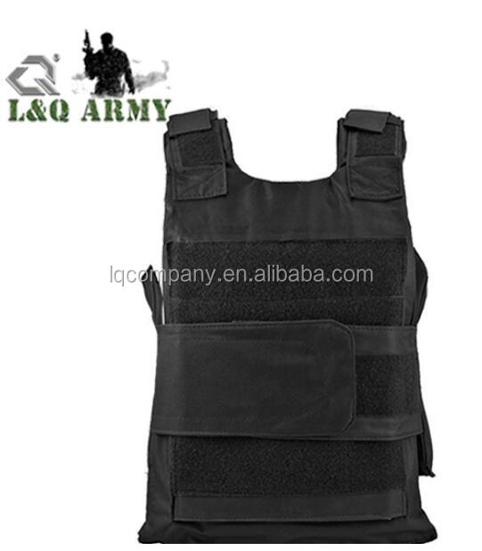 Youth Adult Airsoft Black BB-Proof Vest