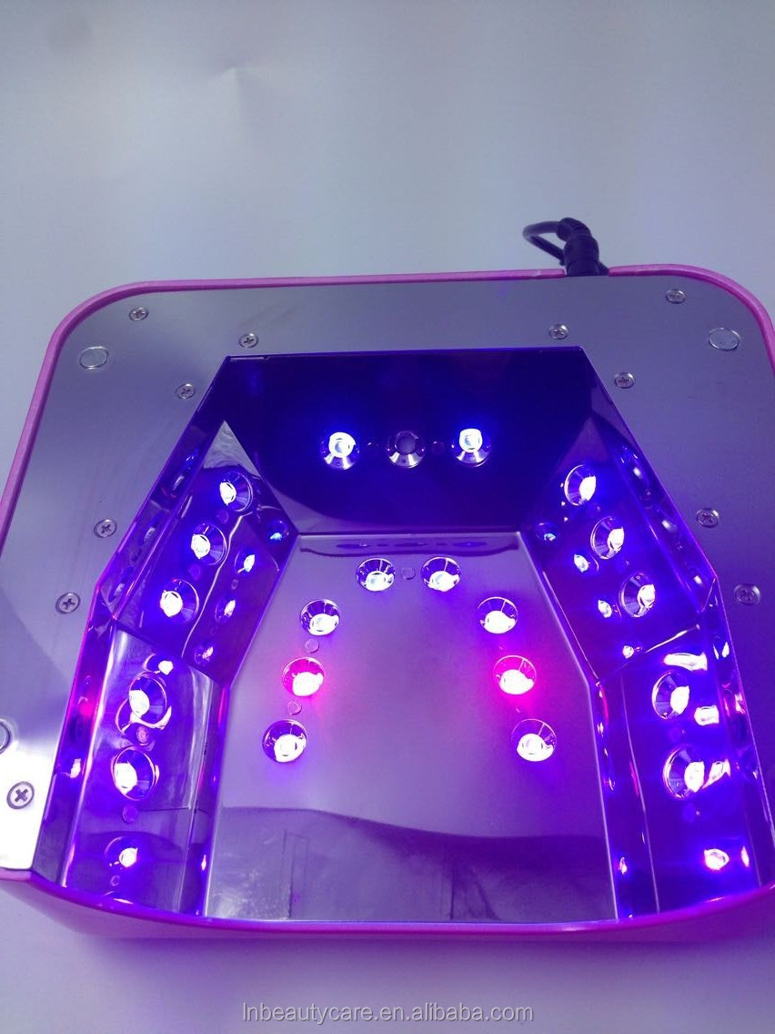 Newest 48W Automatic Powerful Nail LED UV lamp 365-400nm can cure led gel + uv gel with LED Screen