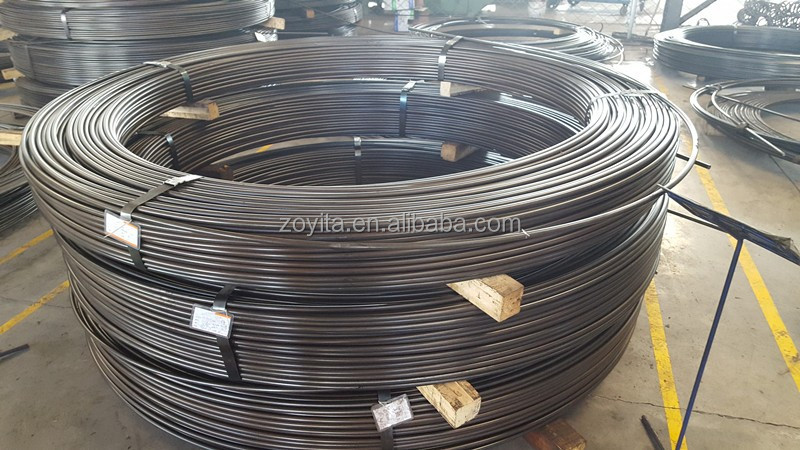 High performance oil quenched&tempered alloy spring steel wire