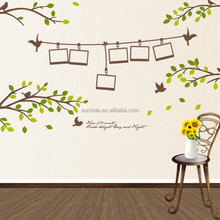 Green Initiative House wall sticker quotes home decro wall decal