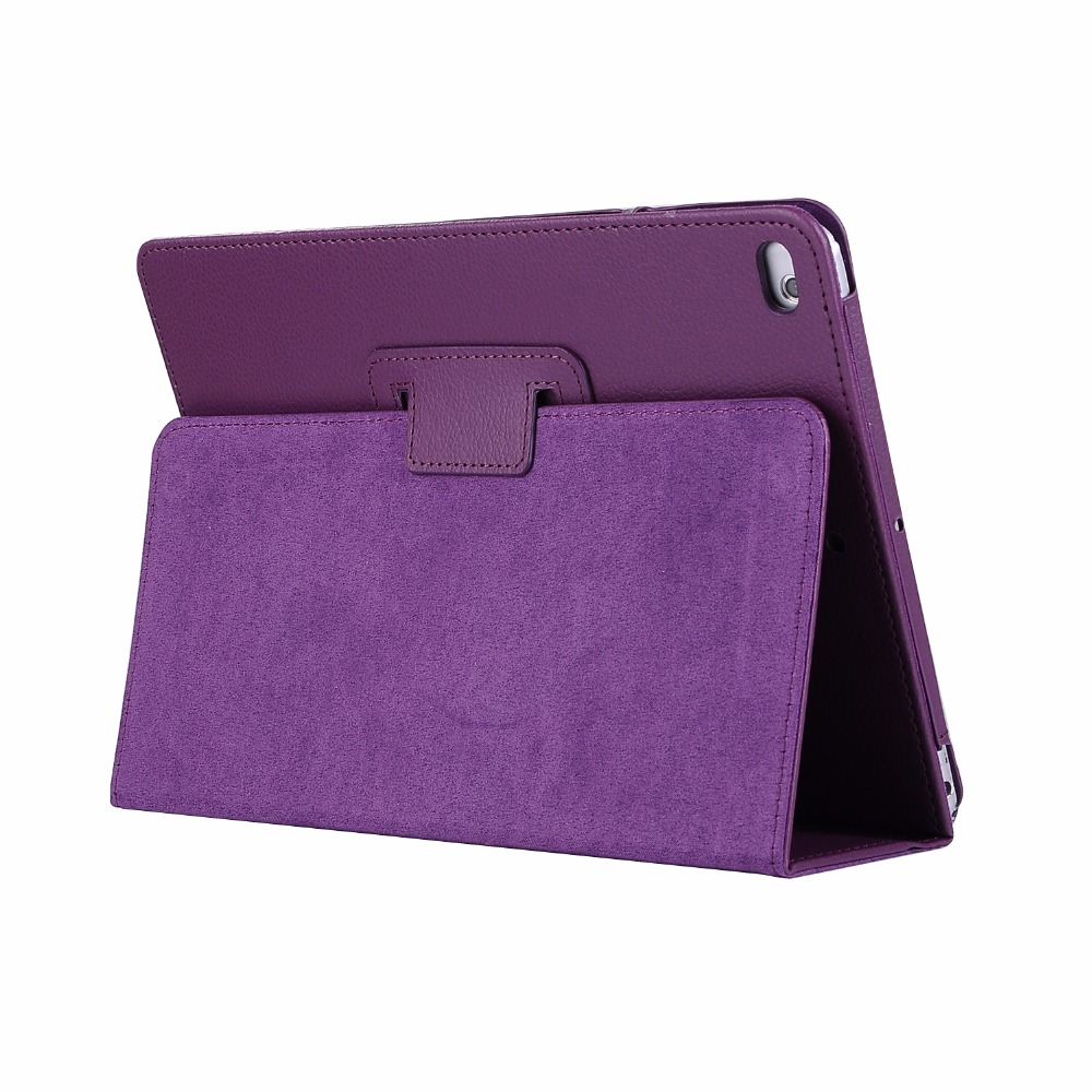 cover case for 2017 New iPad 9.7 tablet folio stand PU leather cover case