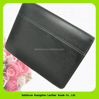 15011 Stable genuine leather travel document holder