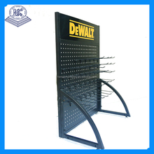 Mini perforated/pegboard hardware & tools rack