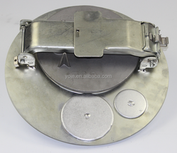 Tank Truck 16 Inch Steel Clamped manhole cover