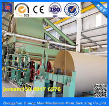 Hot selling 2400mm kraft testliner paper production line,carton paper making machine