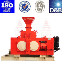 Electrical machinery double roller crusher grinding machine