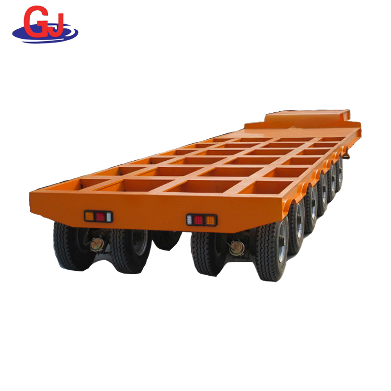 hot product Hydraulic Modular lowbed Semi Trailer