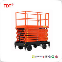 efficient and convenient sissor hydraulic movable lift platform