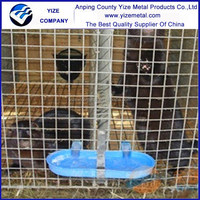 Anping yize high quality hot dipped galvanized mink cage ,poultry mink farm , mink living cage for sale ( factory manufacture)