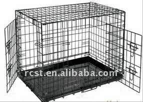 2 access doors dog crate