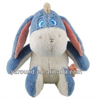 the Pooh and Friends Organic Cotton Plush Toy Collection Eeyore