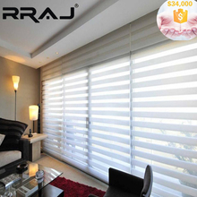 RRAJ 2017 New Curtain Style Zebra Blinds for Home Decoration