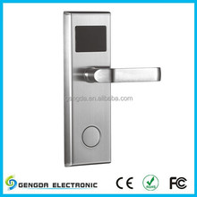 Hotel Door Lock With intelligent RF ID Card