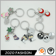 Wholesale customized promotional all types of metal keychain