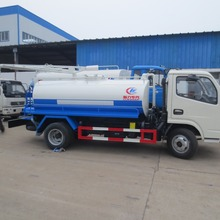 dongfeng 4m3 Vacuum pump sewage suction sewer dredge truck for sale