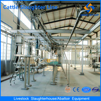 China Cattle Slaughter Line Livestock Abattoir Equipment Machine Sheep and Goat for Lamb Cow