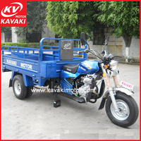 New model gasoline cargo tricycle three wheel truck trike automobile for indian sale
