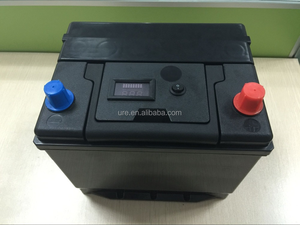 eco-friendly rechargeable LiFePO4 12v 60ah used car batteries for sale