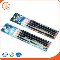 Lantu China Alibaba Cheap Personalized Non-sharpenng HB Measure Pencils