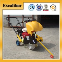 Portable 5.5HP Honda Type Manual Push Gasoline Concrete Cutter