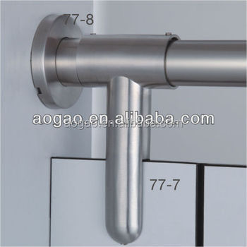 manufacturer toilet cubicle stainless steel 304 pipe clamp