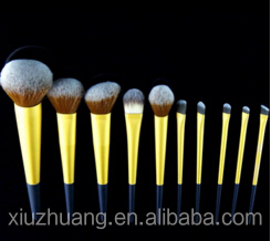 8pcs Kabuki Makeup Brush Round With Case Use With Any Makeup Type Natural Makeup Look