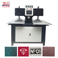 Customized Cloth Embossed Hydraulic Fabric Surface Making Machine
