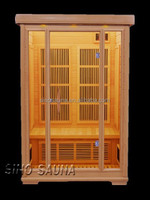 Miracle heat infrared sauna 2 person for the physical therapy equipment