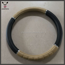 cheap PVC leather car steering wheel cover