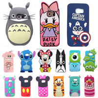 2016 The Newest 3D Cartoon Cute soft silicone case For iphone 4 4s/5 5s/5c/6/6plus