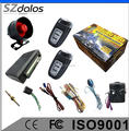 2017 Hot one way car alarm with free keyless entry system police siren car security system