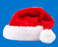 2016 Deluxe Adult Sized Thick Plush Santa Hat