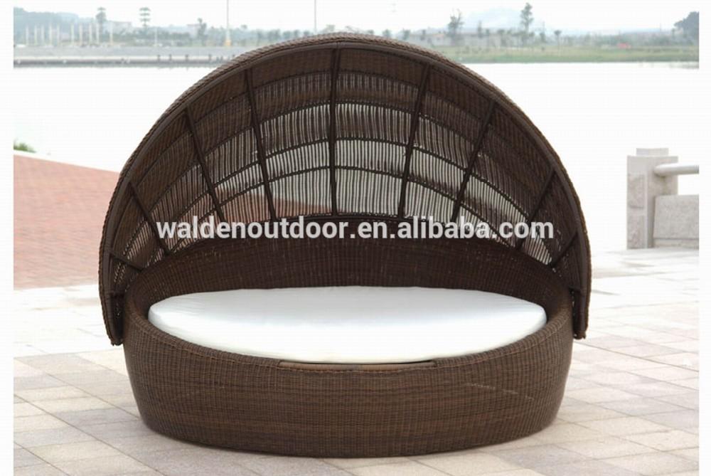 Exterior de playa muebles de jard n sof cama redonda - Muebles de playa ...