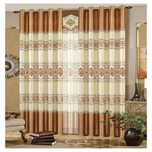 New Style Pastoral Printed Thread Curtain For Girl'S Room