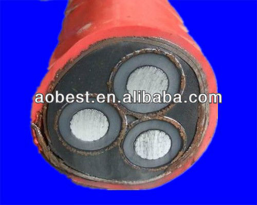 Supply high voltage XLPE 33Kv power cable